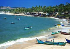 Anjuna Beach, Goa, India.