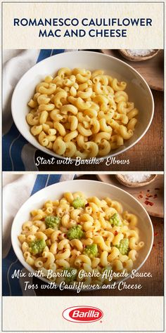 You and your family will love this veggie-filled mac and cheese! Save this recipe for an easy pasta meal with a dose of fresh romanesco cauliflower. Easy Pasta Recipes, Dinner Recipes, Crockpot Recipes, Cooking Recipes, Cauliflower Mac And Cheese, Vegetarian Recipes, Healthy Recipes, Pasta Dishes, Food For Thought