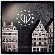 #Europe #Euro #Moon #Sun #Stars #House  Instacanv.as Photo by jkscatena