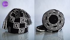 COMOCHI Bags | Handmade Bohemian Bags, $149.00 Kashi(Moon) Boho Bags are woven by two strands of thread, taking 15-20 days to weave. The straps have their own unique design and detail. Handmade in Colombia by the indigenous Wayuu people. www.comochibags.com