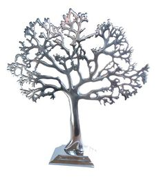New The Medium Tree of life, jewellery stand, Silver finish, art great gift idea