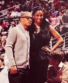Ciara and Rapper T.I.