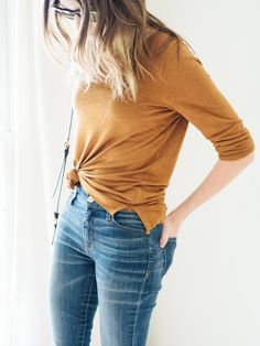 jeans and a tee: it's time to level up!
