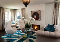 Exquisite Union jack Rug in improvised shades steals the show here