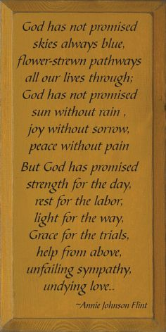 But God has promised a perfect heaven for all who trust in Christ