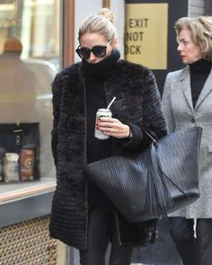 Olivia Palermo out in New York City - January 2016