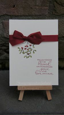 stampin'Up Christmas blessings stamp set