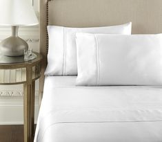 Our White Egyptian Cotton Sheet Set By Pure Parima is specially made with Certified Egyptian cotton. We make the most luxuriously, soft bedding. Tan Bedding, Luxury Bedding, Bedding Sets, Cotton Sheet Sets, Bed Sheet Sets, Bed Sheets, Fitted Sheets, White Sheets, Bed Wrap