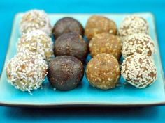 Energy balls!  The oatmeal cookie dough balls from this site are awesome!  Can't wait to try these!