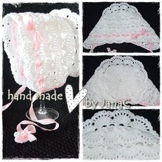 Bonnet Hat, Crochet Baby Hats, Knitting Accessories, Hobbit, Handmade, Baby Things, Crocheting, Caps Hats, Tejidos