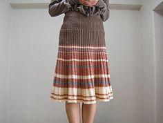 Lavori a maglia, 10 tutorials di gonne ai ferri