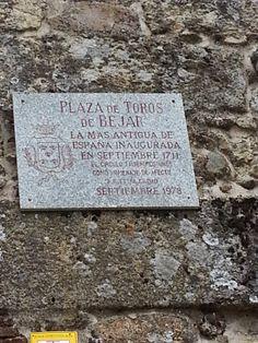 En Béjar está la plaza de toros más antigua de España
