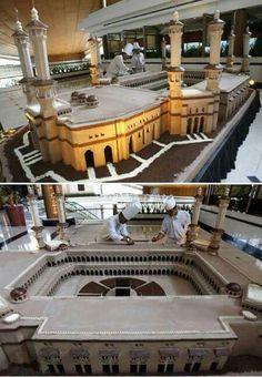 Cake Kaaba Makkah Masjid-ul Haram