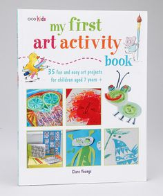 First masterpieces are at the family's fingertips with this crafty activity book. Delight in 35 projects like potato prints, ink blot aliens, cool collages, homemade picture frames and more. Projects are marked with grade levels so it's easy to gauge skill level and work up from simple artistic activities to more advanced ones.Written by Clare YoungsPaper...