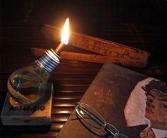 Lantern Bulb Oil Lamp   CoolShitiBuy.com