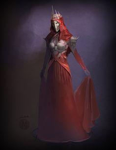 Amarthiel, the Witch-Queen of Angmar | Amarthiel - Witch Queen of Angmar by ~MURCHIEMONSTER on deviantART