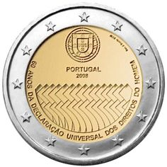 Erikoiseurot Portugali 2 €