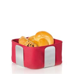 #blomus Serving Basket in red is a great item for a Valentine day Gift or for a holiday table setting.