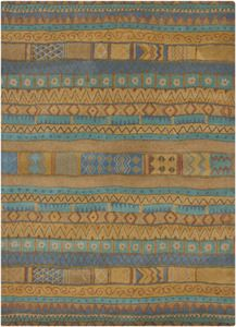 tribal pattern rug