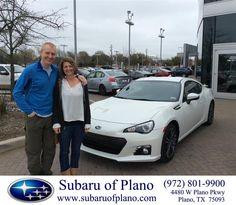 Congratulations to Paula Zeiter on your #Subaru #BRZ purchase from Bill Burke at Subaru of Plano! #NewCar