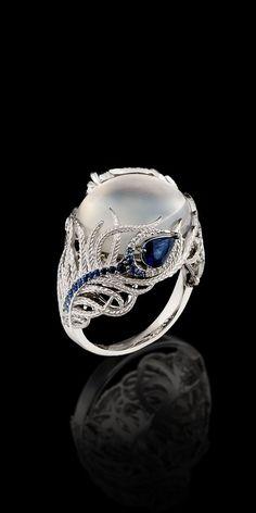 Pearl, Sapphire & Diamonds