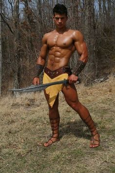 Roman Gladiator Gay porno