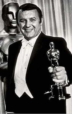 """1968 Oscars: Rod Steiger, Best Actor 1967 for """"In the Heat of the Night"""""""