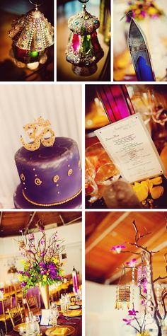 Moroccan styled wedding
