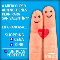¡En Gran Casa tenemos el plan perfecto para #SanValentín!