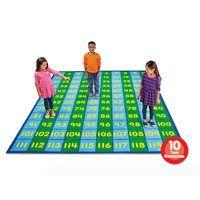 120 Grid Activity Carpet-6' x 9'