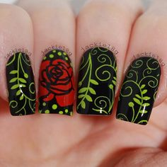 You don't need to choose the same nail art patterns over and over again. It's time to start looking for Beautiful Nail Designs, Cute Nail Designs, Beautiful Nail Art, Fabulous Nails, Gorgeous Nails, Pretty Nails, Fancy Nails, Diy Nails, Rose Nails