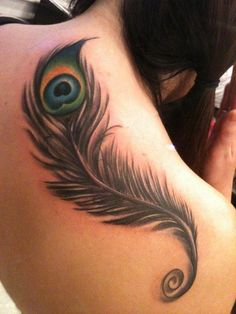 my peacock feather tattoo :)