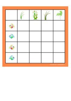 Board for the fish-seaweed matrix. By Autismespektrum.