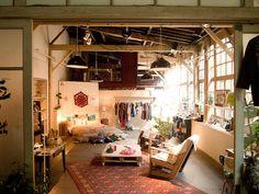 Etsy showroom @ La cartonnerie, Paris, by Cococerise