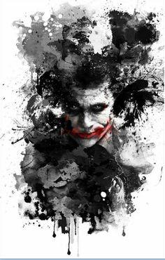 150 Joker - Batman The Dark Knight Movie Poster Le Joker Batman, Batman Joker Wallpaper, Der Joker, Joker Iphone Wallpaper, Heath Ledger Joker, Joker Wallpapers, Joker Art, Joker And Harley Quinn, Gotham Batman
