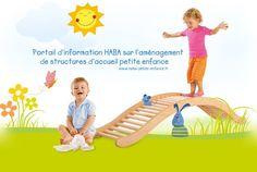 Portail d'information HABA sur l'aménagement de structures d'accueil petite enfance – Fabricant de mobilier en bois pour crèche - Haba petite enfance - Habermaaß GmbH