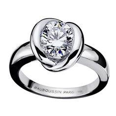 Gold Swan ring WG