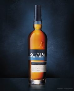 Scapa Single Malt Scotch Whisky. Designed by Turner Duckworth.