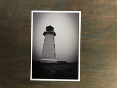 Peggy's Cove Photo Ready to Ship 5x7 With by PatrickRabbatPhotos