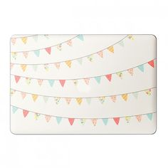"""Pretty Bunting - Laptop 15"""" decal"""