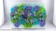 Mixed Media Canvas by Nicoles Kreative Welt
