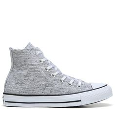 d2dcd917879 Converse Women s Chuck Taylor All Star High Top Sneakers (Black White) - 5.0