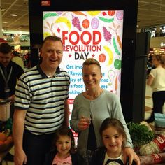 A family enjoying the culinary festivities at #gatwick. Come and join in the fun with @Jamie's Italian UK #frd2014