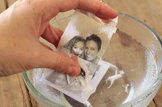 Transfert d'images : trop facile en fait! avec du collant transparent