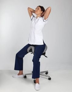 A healthy spine means a healthier life. The Bambach Saddle Seat is the only seat scientifically proven to naturally and effortlessly keep your spine in a healthy upright position when you sit, relieving and eliminating back pain and Sciatica. www.bambach.co.uk Standing Chair, Standing Desks, Healthy Spine, Smart Home, Back Pain, Normcore, Qi Gong, Sciatica, Furniture