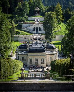 Linderhof Palace, Germany Of all the castles and Palaces we visited. This was my favorite.