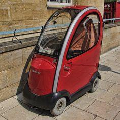 SHOPRIDER TRAVESO mobility scooter by Leo Reynolds, via Flickr