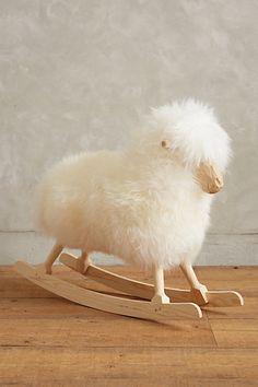 icelandic rocking sheep  - 25% off today!!! #anthrofave