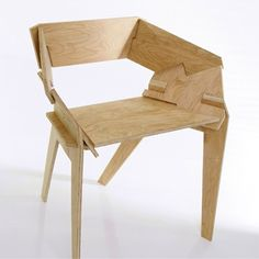 Slot together plywood furniture: plywood chair, plywood design Plywood Chair, Plywood Furniture, Furniture Plans, Diy Furniture, Furniture Design, Luxury Furniture, Plywood Floors, Futuristic Furniture, Bedroom Furniture