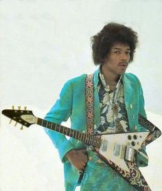 1967 Gibson Flying V - with custom painted psychedelic body paintwork done by Jimi himself-Gear of the Gods: Jimi Hendrix Jimi Hendrix Experience, Heavy Metal, Jimi Hendricks, Historia Do Rock, Beatles, Rockn Roll, Janis Joplin, Music Icon, Shows